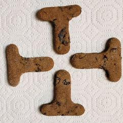T shaped cookies